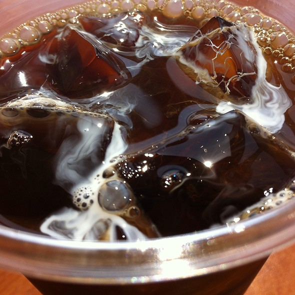 Iced Coffee @ Harbor View Club