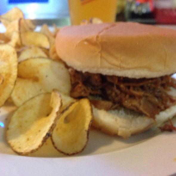Pork B B Q Sandwich @ Hardy's Cafe