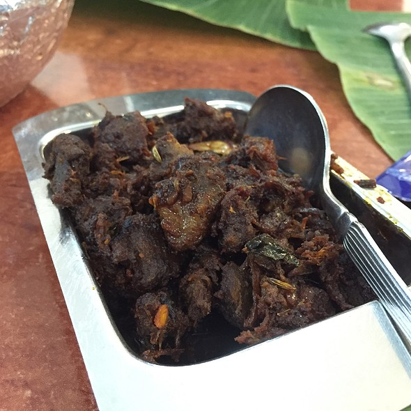 Dry Mutton @ Samy's Curry