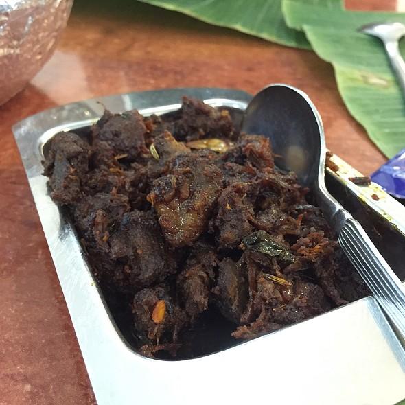 Dry Mutton @ Samy's Curry