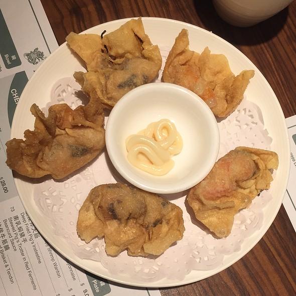 Crispy Prawn Dumpling With Mayonnaise @ Imperial Treasure @ Amara