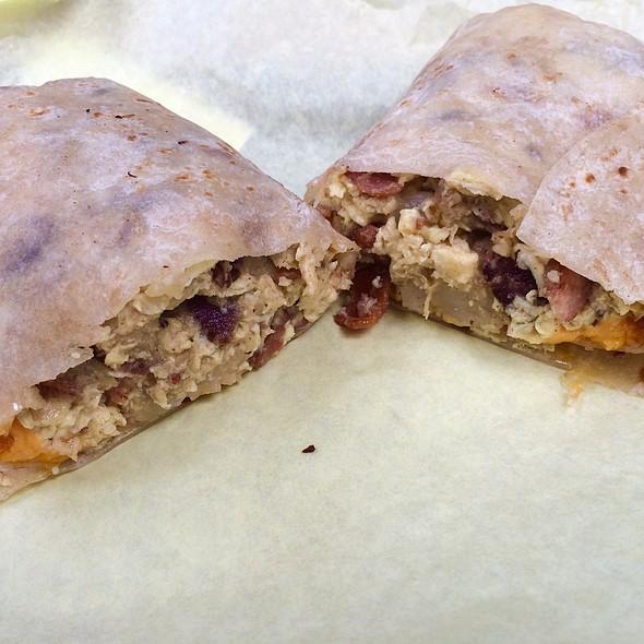 Breakfast Burrito @ Cali Tacos