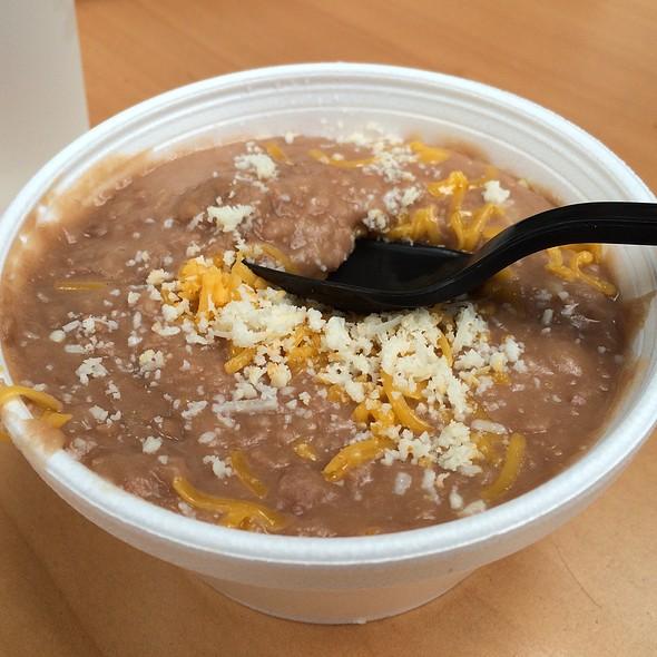 Refried Beans @ Cali Tacos