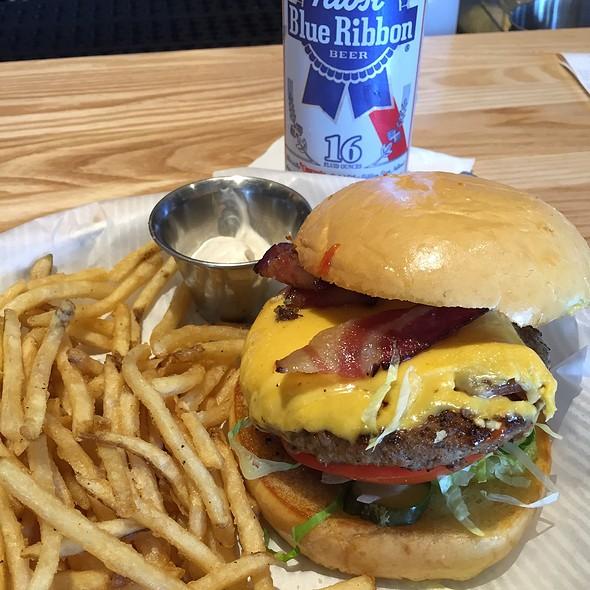 Bacon Love #9 With Fries @ Grub Burger Bar