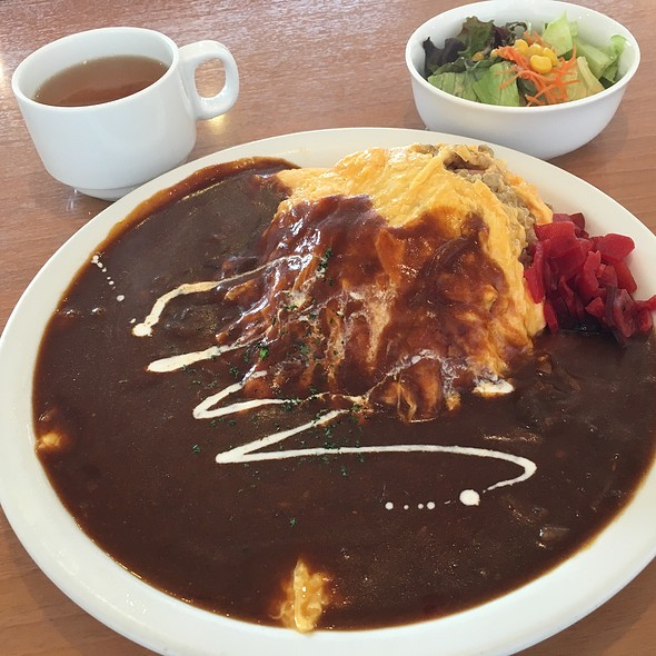 Omukare (Curry Omelette) @ Baby Face