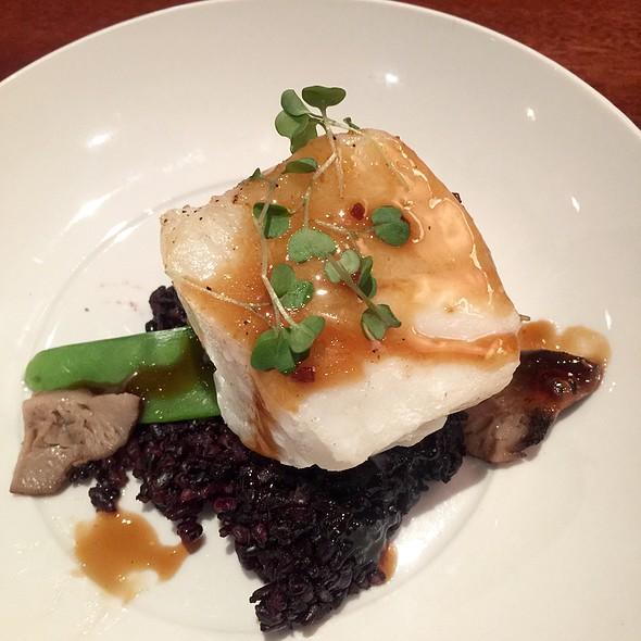 Seabass A La Plancha With Black Rice - Seasons 52 - Ft. Lauderdale, Fort Lauderdale, FL