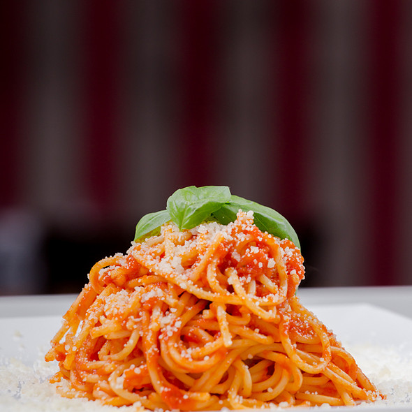 spaghetti al pomodoro - BiBo Pizzeria con Cucina, Vancouver, BC