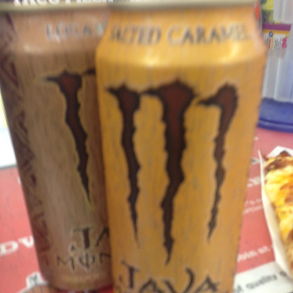 Salted Caramel Monster Coffee + Energy @ Casey's General Store