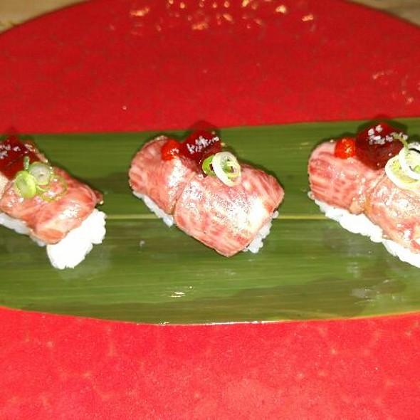Miyazaki Beef Sushi - Zama, Philadelphia, PA