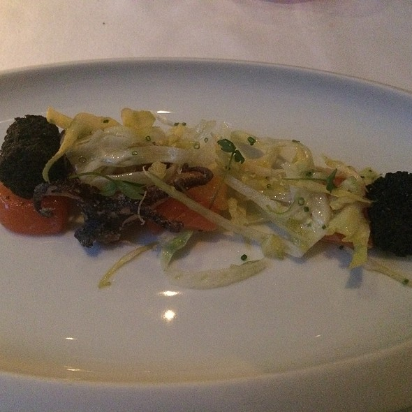 Cured Salmon & Baby Octopus