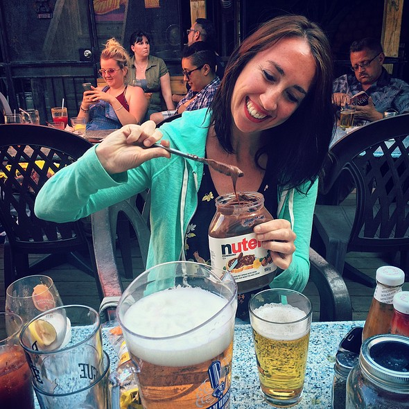 Beer N Nutella @ The Only Cafe