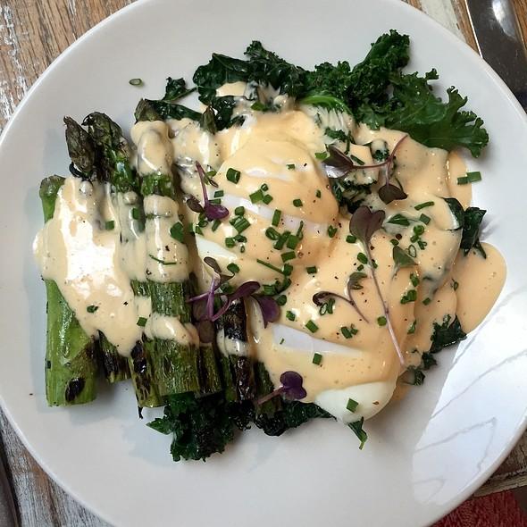 Asparagus & Poached Eggs - The Fat Radish, New York, NY