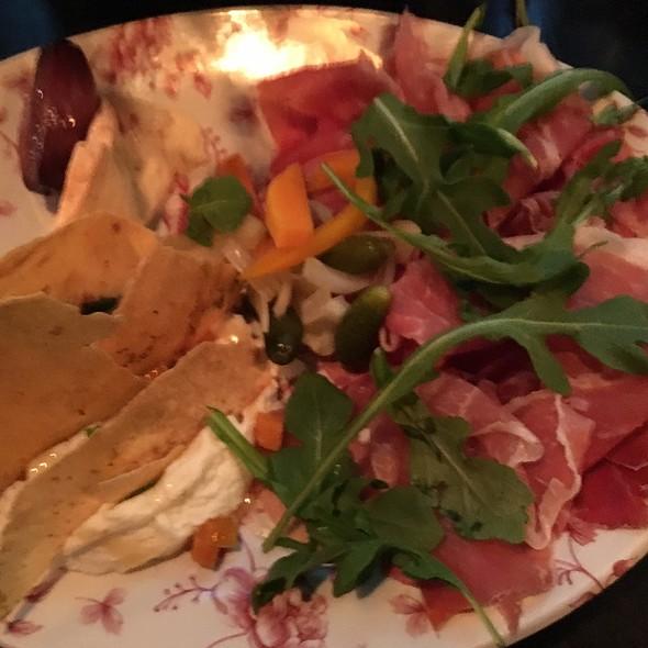 Charcuterie plate @ Bocce Bar