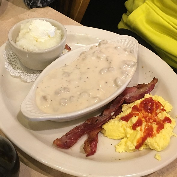 Biscuits, Eggs, And Gravy