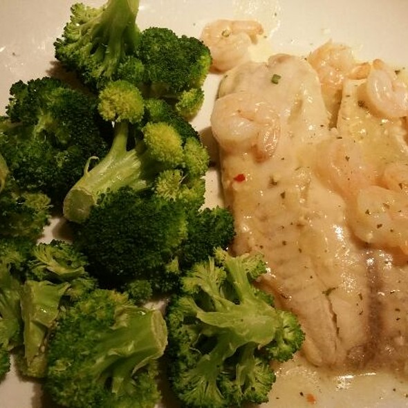 Baked Tilapia With Shrimp At Olive Garden