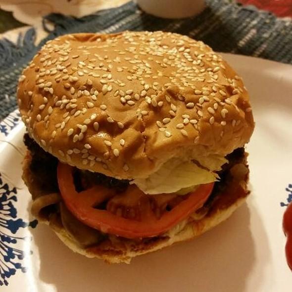 Burger @ Five Guys Burgers and Fries