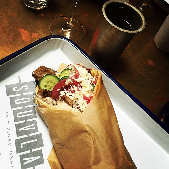 Lamb Sandwich @ Souvla