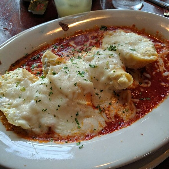 Seafood Stuffed Shells - Zia Marie, Virginia Beach, VA