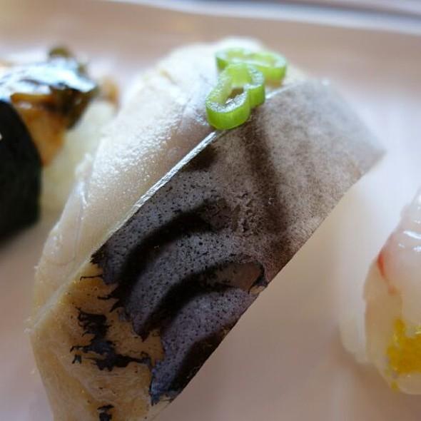 Mackerel Nigiri @ Sushi Box
