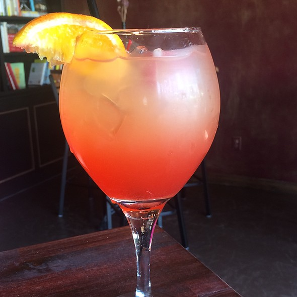 Peachy Keen Sangria @ Uncorked Bar And Bistro
