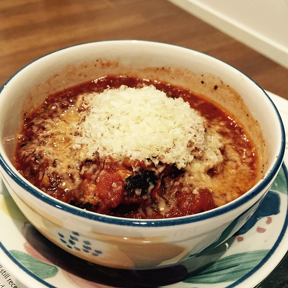 Chicken Meatballs In Zucchini Tomato Sauce @ Chookys