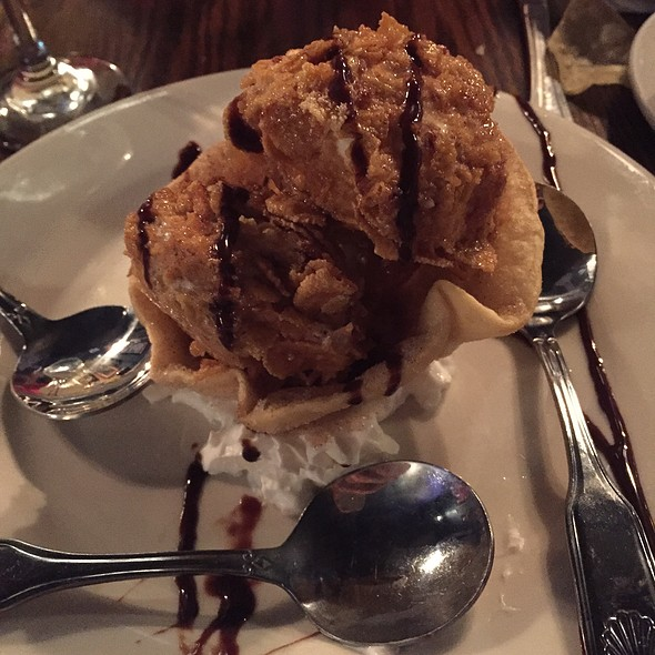 Fried Ice Cream @ La Paz