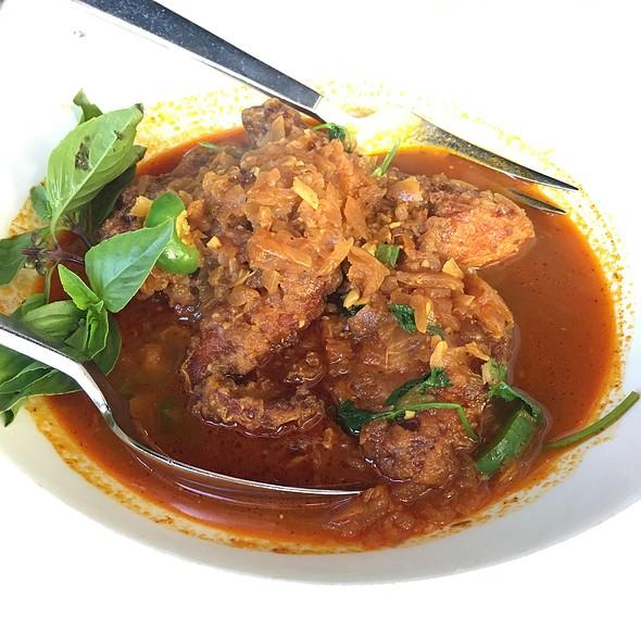 Village Catfish - Rangoon Ruby Burmese Cuisine - Palo Alto, Palo Alto, CA