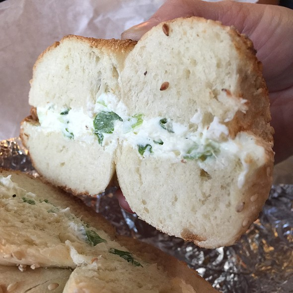 Breakfast Bagel @ Pick A Bagel