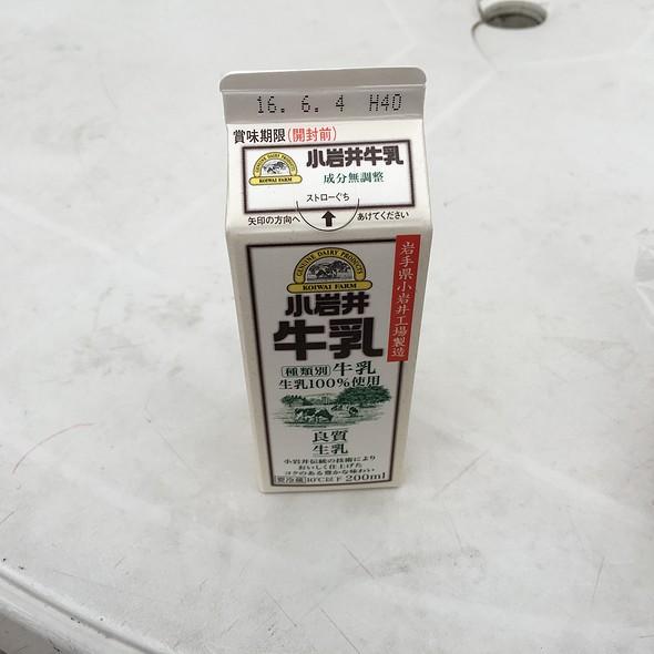 牛乳 @ 宇都宮競輪場