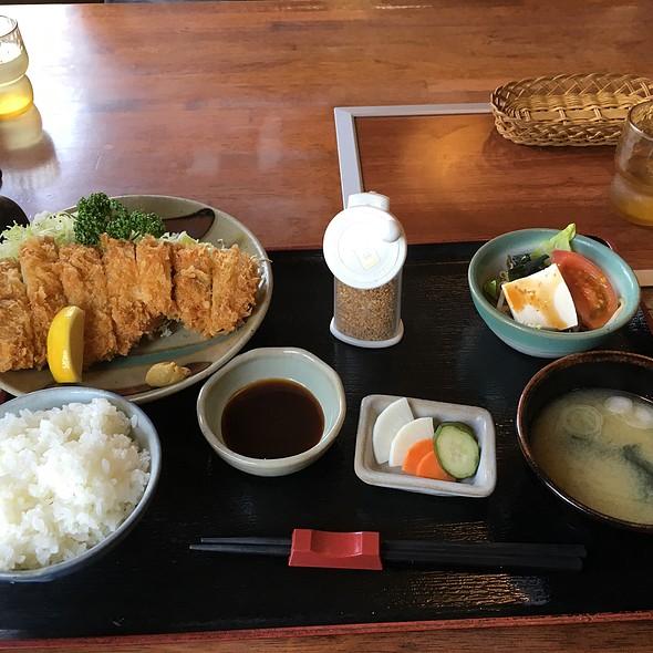 ロースカツランチ @ きらく伝馬町店