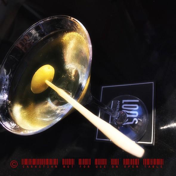 Dirty Martini @ Loos-Bar