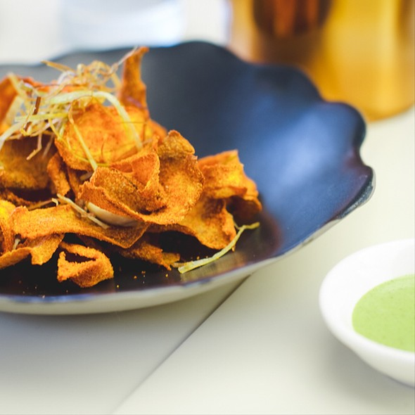 Pumpkin Chips @ Jar