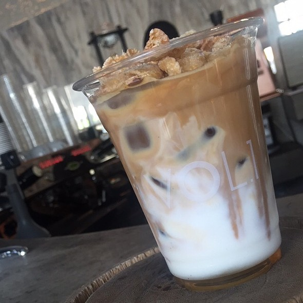 Iced Cereal Latte @ Vol.1