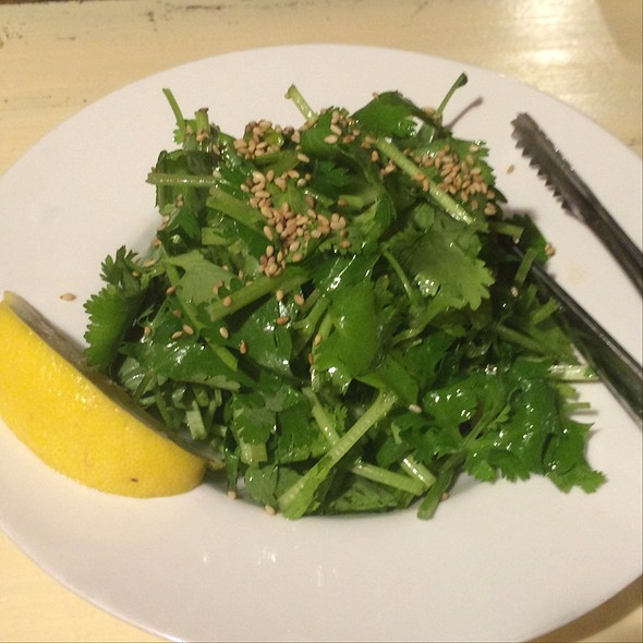 Cilantro & Lemon Salad @ Groovy Kitchen