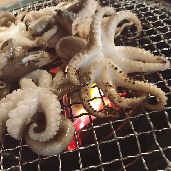 Baby Octopus @ Jjukku Jjukku Korean Bbq