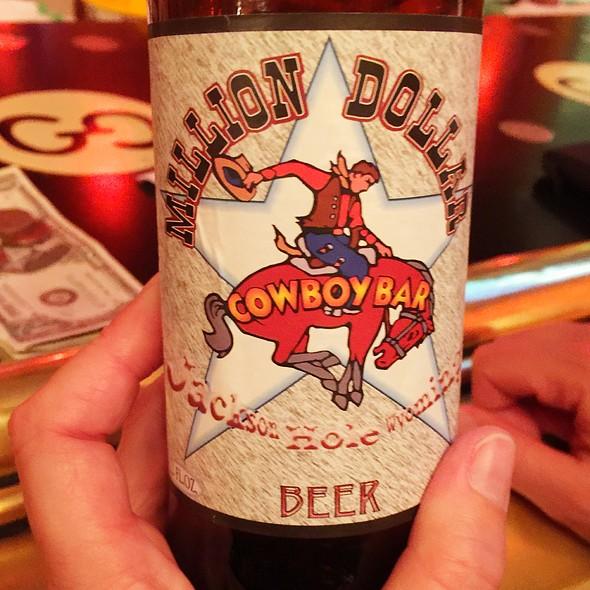 House Beer @ Million Dollar Cowboy Bar