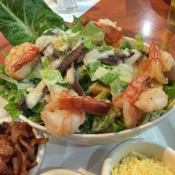 Ceasar Salad With Garlic Prawns @ Norths Devils Leagues Club