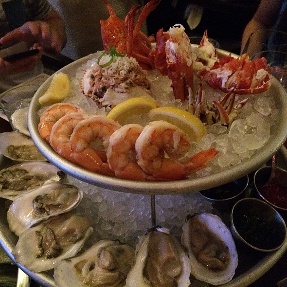 Seafood Tower @ State Of Grace