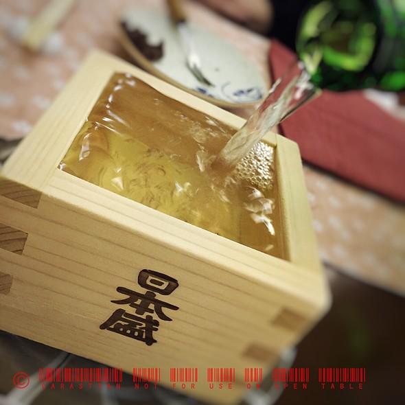Yamato Shizu Junmai Ginjo Sake @ Nihonbashi