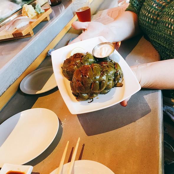 Grilled Artichoke @ Lou's Sushi