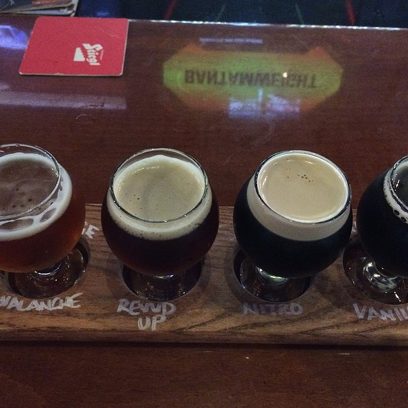 Malt Flight @ World Of Beer