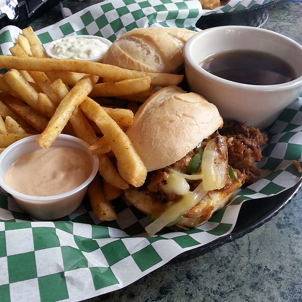 Brisket Dip @ Waddell's Brew Pub & Grille