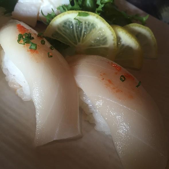 Escolar Nigiri @ Aka Sushi House