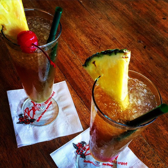 Navy Grog - Bali Hai Restaurant, San Diego, CA