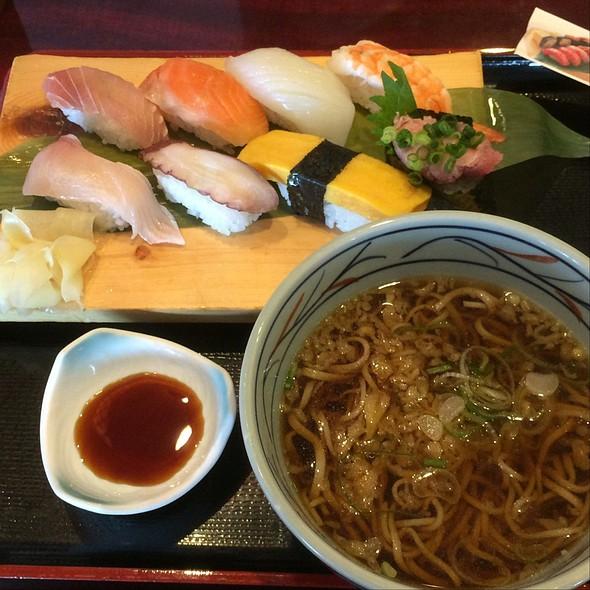 Sushi & Soba Set @ 京成友膳