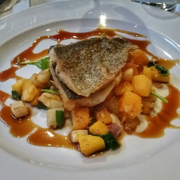 Pan Seared Trout @ Local Restaurant And Bar