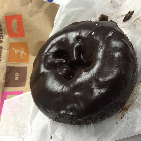 Double Chocolate Donut @ Dunkin Donuts