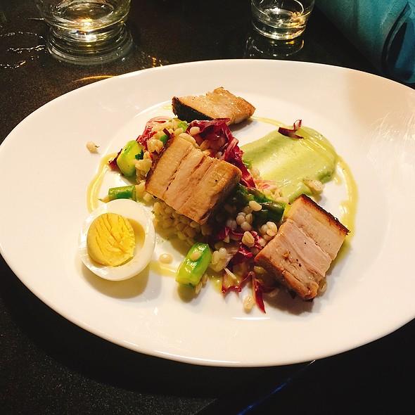 Pork Belly And Asparagus @ Formoli's Restaurant