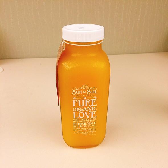 The Flash @ Sun & Soil Juice Company