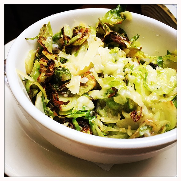 roasted brussel sprouts @ The Quarter